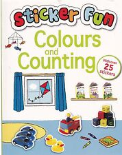 Learn Colours and Counting Sticker Fun - New Book