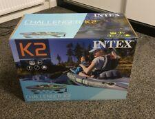 Intex Challenger K2 Kayak Brand New 2 Person Kayak Pump, Set ✅