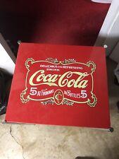Coca Cola Bar Cart