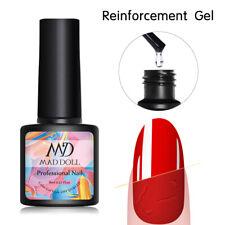 Mad Muñeca refuerzo 8ml Protector de uñas de gel potenciador de espesor Soak Off Hazlo tú mismo
