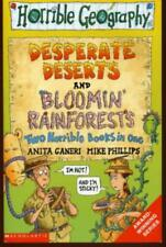 Horrible Geography. Desperate Deserts / Bloomin' Rainforests: Two Horrible Books