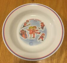 New listing Winter Olympics 1984 Campbell's Kids Bowl~Sarajevo Collectible 8 3/8�