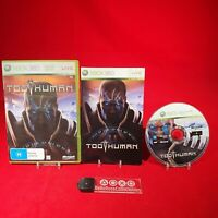 Too Human - Microsoft Xbox 360 PAL Game *BellaRoseCollectables*