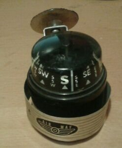 Vintage Air Way car compass, nice classic accessory for a classic car