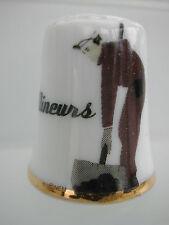 Dé à coudre de collection Thimble - LES MINEURS - N° 1