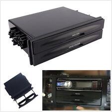 Universal Car Double Din Dash Trim Radio Pocket Kit Drink Cup Holder Storage Box