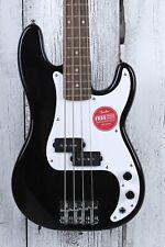 Fender® Squier Mini Precision Bass 4 String Electric P Bass Guitar Black