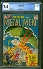 Showcase 37 1st Metal Men CGC 2.5 Ross Andru Mike Esposito Cover 3-4/1962