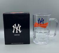 New York Yankees Budweiser Hard Plastic Beer Mug Vintage