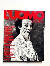 L'uomo Vogue 200 ottobre 1989 Roberto Benigni Anya Handke Austria Tirolese