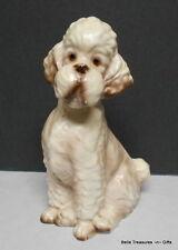 Trimont Ware Vintage Ceramic Poodle Dog Figurine
