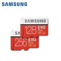 Samsung EVO Plus 128GB / 256GB Micro SDXC C10 UHS-3 TF Memory Card free Adapter