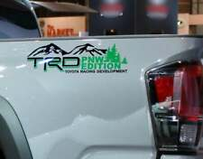 TRD Mountains PNW Edition for Toyota Tundra Tacoma FJ Cruiser 4Runner Decals