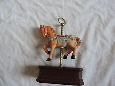 Vintage Cedar Point Carousel Horse Amusement Park Souvenir (a246)