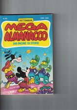 1989 09 - MEGA ALMANACCO WALT DISNEY - 09 1989 - N.393