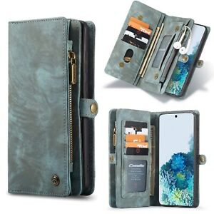 For Samsung Galaxy S20 Ultra S20 Plus NOTE 20 Leather Wallet Magnetic Cover Case