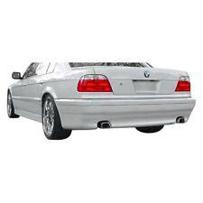 For BMW 750iL 95-01 Rear Bumper Lip Under Air Dam Spoiler AC-S Style Fiberglass
