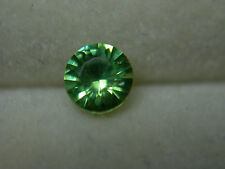 very rare Demantoid Garnet gem Green Dragon Mine Namibia Genuine Diamond Cut