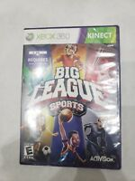 Big League Sports (Kinect) Xbox 360 Game Brand New Factory Sealed FREE SHIPPING