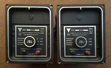 Vintage Pair JBL LX8 Crossover 8 ohm Work good shape LX-8