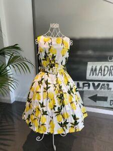 Lindy Bop Audrey Lemons Vintage Style Dress