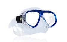 Tilos Fantasia Tempered Glass Scuba Snorkeling Diving Mask Blue M250MB-M NEW