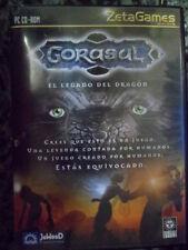 Gorasul El Legado del Dragón PC Gran Rol aventura PAL España Foto real.