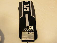 Player ID by TCK PCN MED #5 TWI 1 sock black charc vollyball basketball soccer
