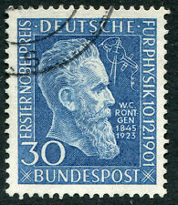 GERMANY # 686 & 688 VF Used Issues - ROENTGEN NOBEL PRIZE NA OTTO ENGINE - S5608