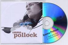 EMMA POLLOCK Paper And Glue 2007 UK 2trk promo test CD 4AD