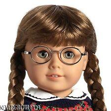 AMERICAN GIRL MOLLY DOLL GLASSES BOOK + 2 BONUS PERSONALIZED BEAD BRACELETS~NEW