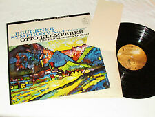 BRUCKNER Symphony No. 4 Romantic LP OTTO KLEMPERER Angel Records 36245 VG+/VG