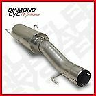 "04.5-07 Diamond Eye Dodge 4"" T409 SS OEM Muffler Replacement Kit Diesel Exhaust"