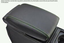 green stitch FITS VOLVO V70 XC70 00-07 LEATHER ARMREST COVER ONLY