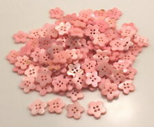 100pcs 14MM PINK REAL PEARL SHELL BUTTON WITH RIM MOP MOTHER OF PEARL B-77