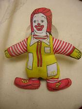 1981 McDonald's Toy Figure - RONALD McDONALD - Vintage McDonaldland Plush