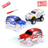 Track Cars Light Up Toy Car Track 3 Pack Fit with Magic Tracks Glow in The Dark