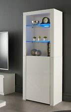Modern White Black Matt Gloss Sideboard Display Cabinet Cupboard Buffet