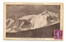 le mont-blanc , vu des aravis