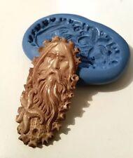 Dio del mare Poseidon 60 mm STAMPO spirituale gioielli PMC Glassa Resina