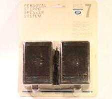 BOOTS PERSONAL STEREO SPEAKER SYSTEM PSS 7 MW (SMALL JACK SIZE)