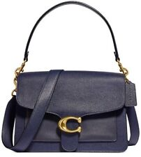 Coach Tabby Ladies Small Midnight Navy Leather Shoulder Bag 73724b4bhp