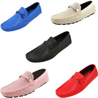 Amali Men's Driving Loafers Perforated Breathable Casual Slip On Moccasin Shoes