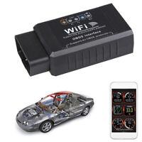 Strumento di scansione diagnostica auto ELM327 WIFI OBD2 OBDII per iOS Android