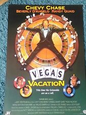 Vegas Vacation (Chevy Chase, Beverly' , Randy Quaid) 1997 Movie Poster A2
