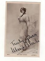 MISS.MARIE BLANCHE. AUTOGRAPHED/SIGNED OLD REAL PHOTO.POSTCARD.