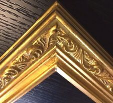 Gold Ornate panoramic Portrait Picture Frames4art B1G 9.5x20