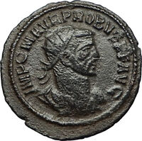 PROBUS w Jupiter Authentic Ancient Original 276AD Antioch Roman Coin i67716