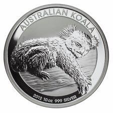 2012 Australia $10 Silver 10oz Koala in Plastic Capsule KM# 1690