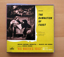 ALP 1225-7 Berlioz Damnation Of Faust Charles Munch Boston Symphony 3xLP NM/VG
